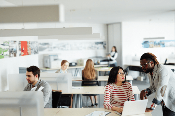 Open plan workspaces create stakeholder engagement challenges