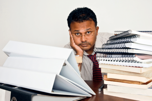 Cannot use leadership skills effectively when overloaded with work